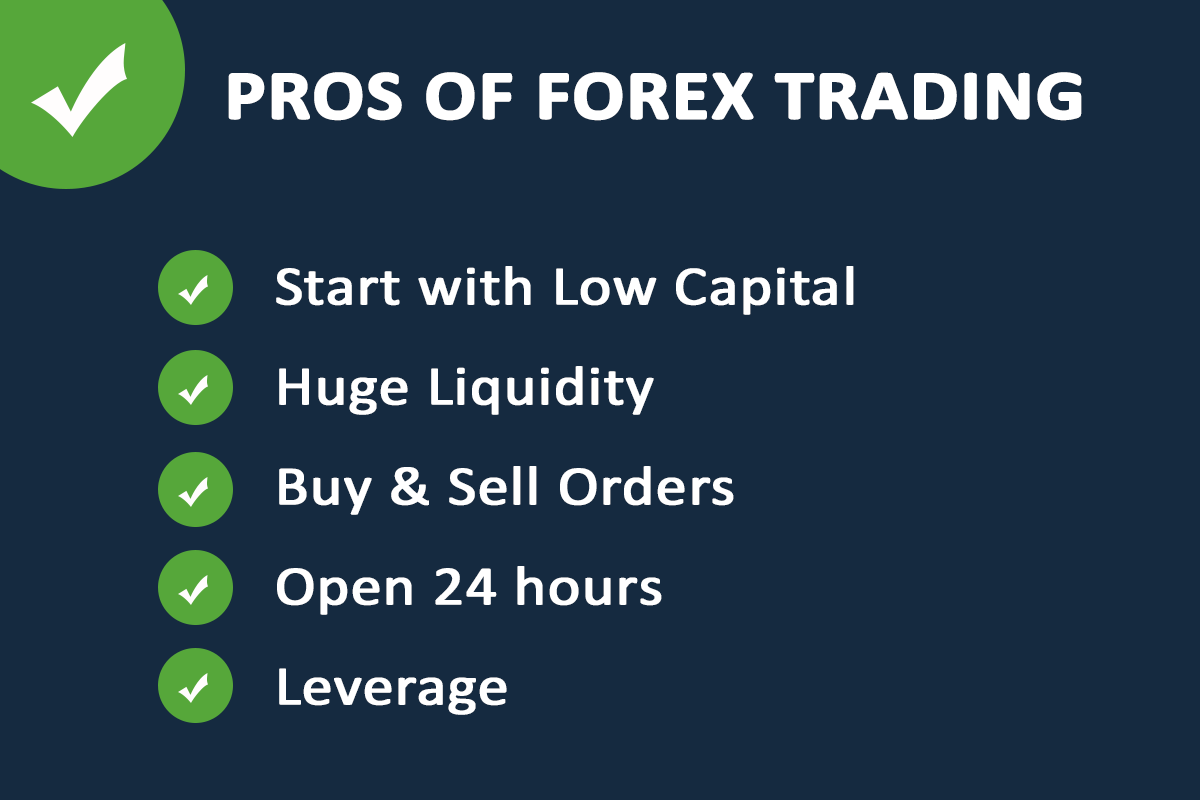 Pros of Forex Trading